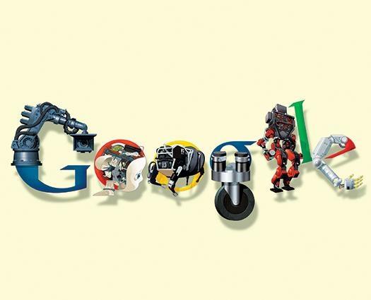 ارتش روباتیک گوگل، جهان را تسخیر میکند