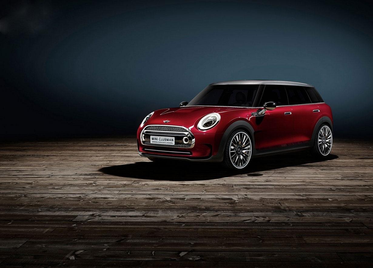 """""""مینی کلابمن"""" نسل جدید اتومبیل مینی با طراحی جدید"""