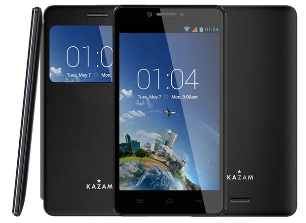 رقیب گلکسی اس5؟/ گوشی هوشمند KAZAM با سرویس نجات و تعویض رایگان صفحه نمایشگر