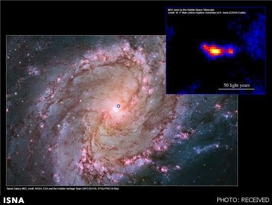 کشف یک سیاهچاله کوچک، پرسرعت و فوق قدرتمند
