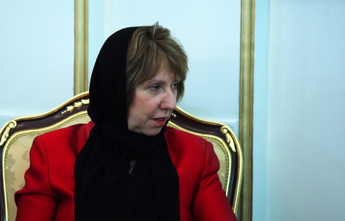 کاترین اشتون,مذاکرات هسته ایران با 5 بعلاوه 1