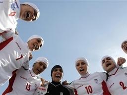 تیم ملی فوتبال بانوان ایران در رده ۵۵ جهان ایستاد
