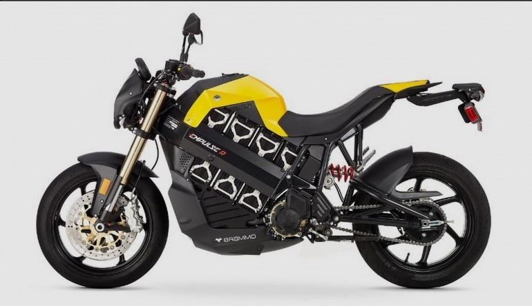 موتورسیکلت 17000 دلاری برامو امپالس با مصرف صدی نیم لیتر
