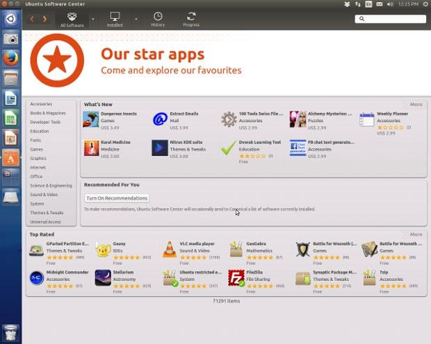 تصاویری از سیستم عامل اوبونتو 14.04 تازه از تنور درآمده
