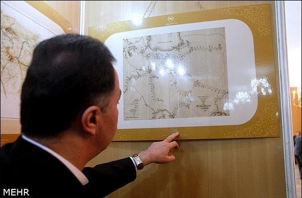 نقشه ایران در آینه تاریخ