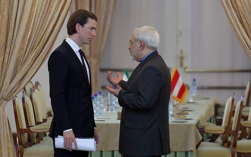 محمدجواد ظریف,اتریش