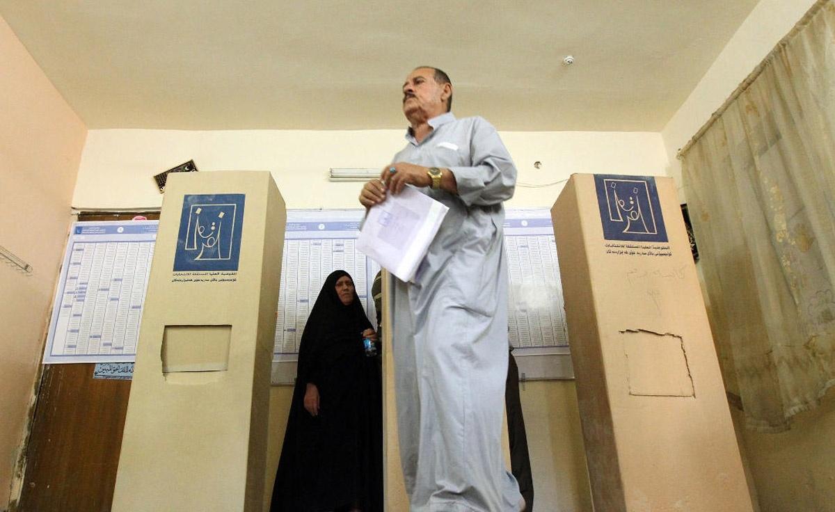 اولین انتخابات پارلمانی عراق بعد از آمریکایی ها
