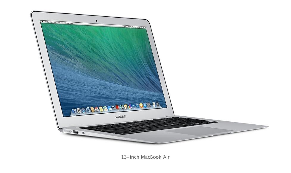 مک بوک ایر جدید اپل، سریعتر،100 دلار هم ارزان تر