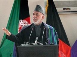 حامد کرزی,افغانستان