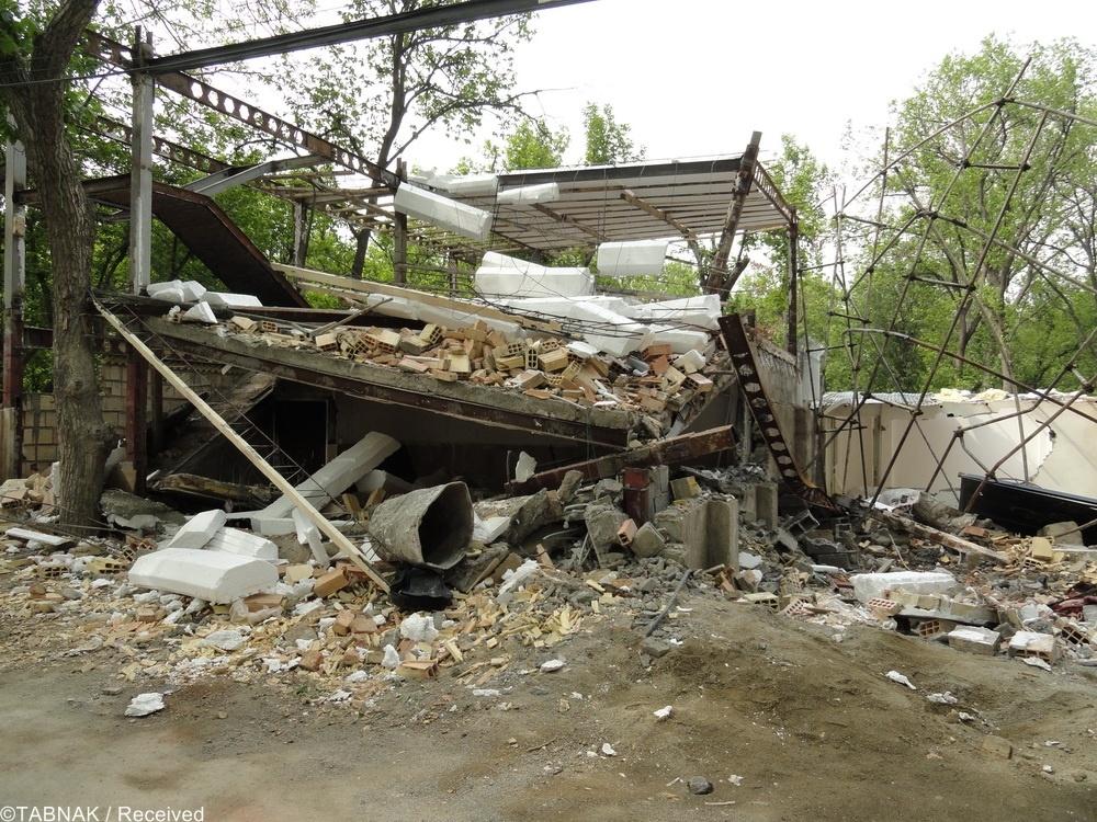این خانه را نصفه شب سر ساکنانش خراب کردند