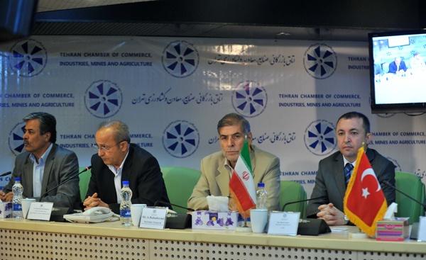 تب تجارت با ترکیه داغ شد/ فعالان اقتصادی ترک به دیدار بازرگانان تهرانی آمدند