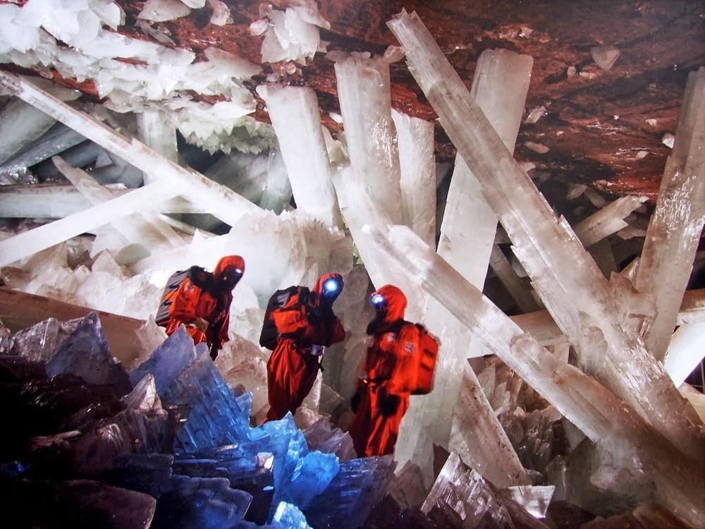 بزرگترین کریستالهای روی زمین