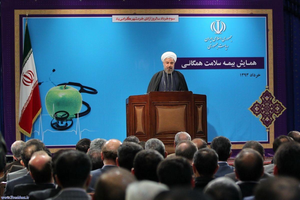 روحانی:فتح خرمشهر پشت قباله هیچکس نیست/بلا فاصله بعد از انتخابات دعوا برای انتخابات بعدی شروع می شود