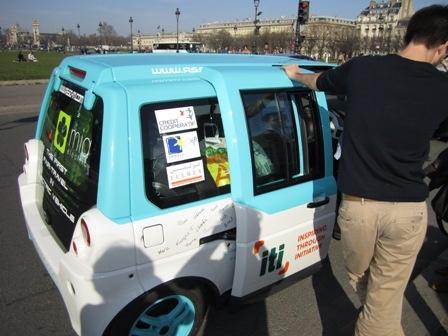از پاریس تا تهران همراه با خودروی برقی