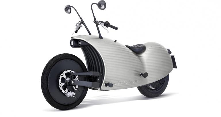 عجیبترین موتورسیکلت الکتریکی به قیمت 115,000,000 تومان