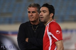 جواد نکونام در اردوی تیم ملی/مصدومیت کاپیتان جدی نیست