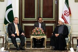 حسن روحانی,ایران و پاکستان,نواز شریف