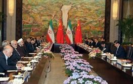 حسن روحانی,ایران و چین