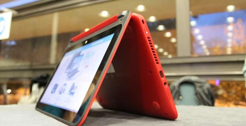 لپ تاپهای تاشوی جدید اچ پی از سری x360