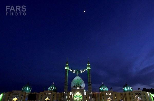 مسجد مقدس جمکران در آستانه نیمه شعبان چه حال وهوایی دارد؟