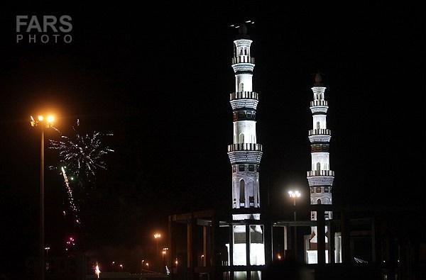 مسجد مقدس جمکران در شب میلاد حضرت حجت ابن الحسن العسگری(عج)