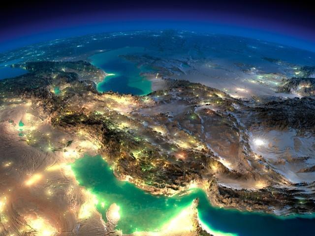 فریب نخورید! این تصویر ماهوارهای ایران، فتوشاپ است