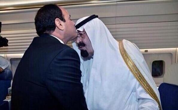 عبدالفتاح السیسی,ملک عبدالله