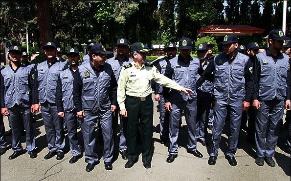 رونمایی از پلیس افتخاری