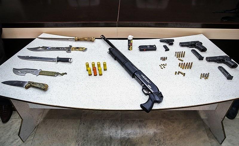 انهدام شبکه بزرگ سرقت مسلحانه در پایتخت/ بازداشت رئیس باند با هلیکوپتر