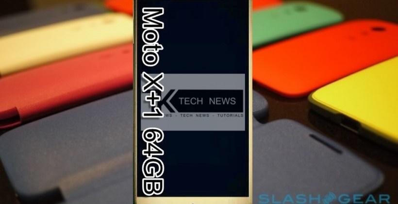 تصویر لو رفته از جدیدترین گوشی موتورولا Moto X+1