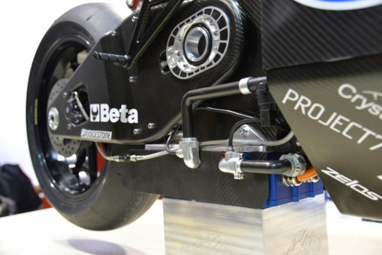 موتورسیکلت الکتریکی از جنس فیبرکربن با گشتاور باورنکردنی 400 نیوتن متر