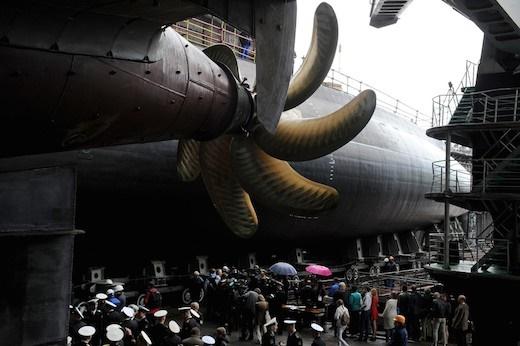 جدیدترین زیردریایی نامریی روسیه