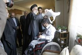 جانبازان و ایثارگران,آیتالله خامنهای رهبر معظم انقلاب