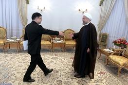 حسن روحانی,ایران و چین,چین