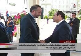 عبدالفتاح السیسی,ایران و مصر