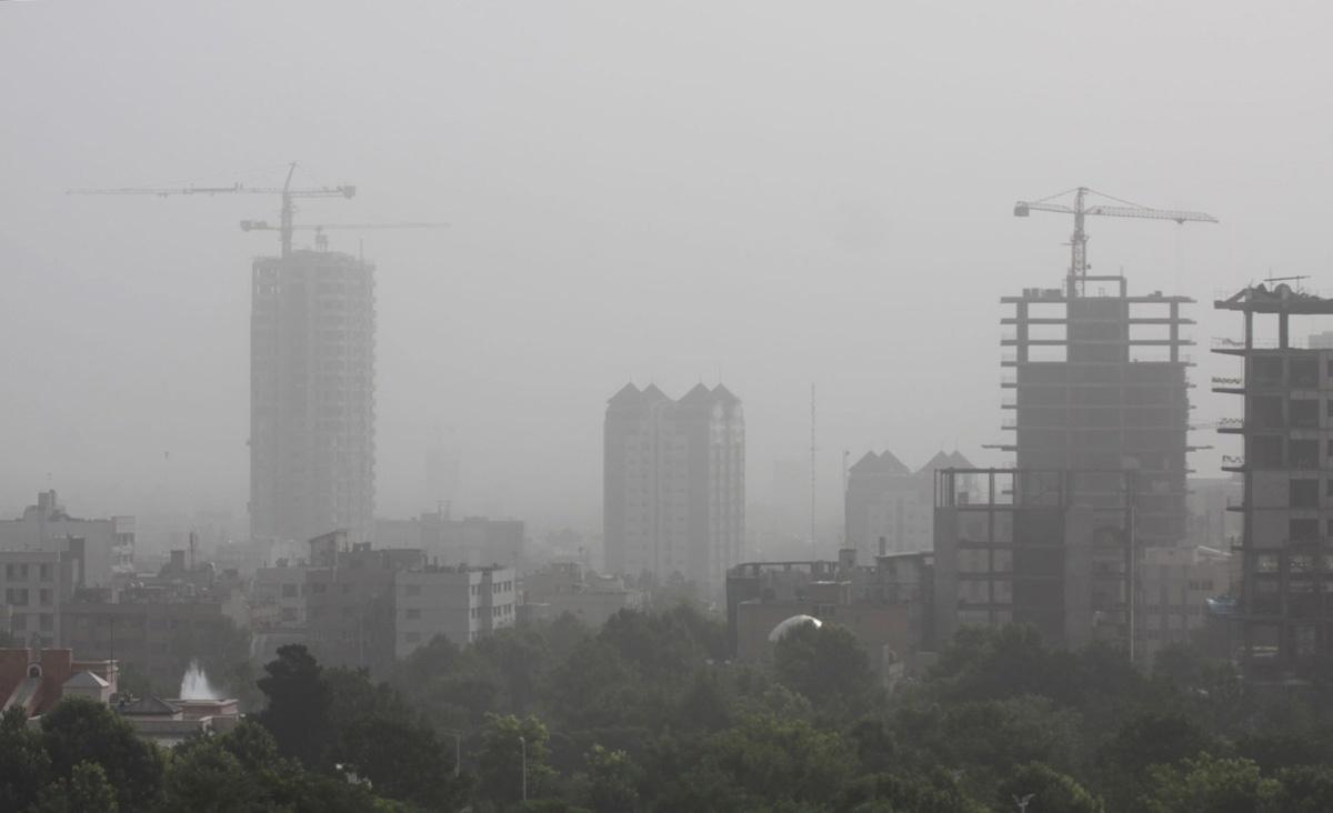 Image result for گرد و غبار در مشهد