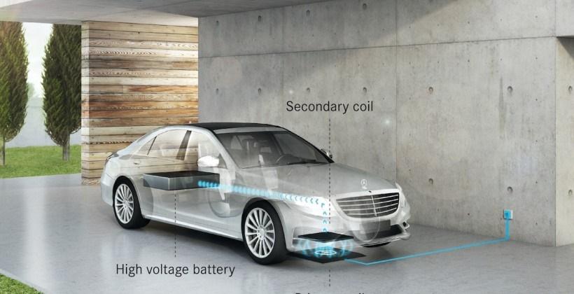 همکاری مشترک بی.ام.دبلیو و مرسدس بنز برای ساخت شارژر بی سیم
