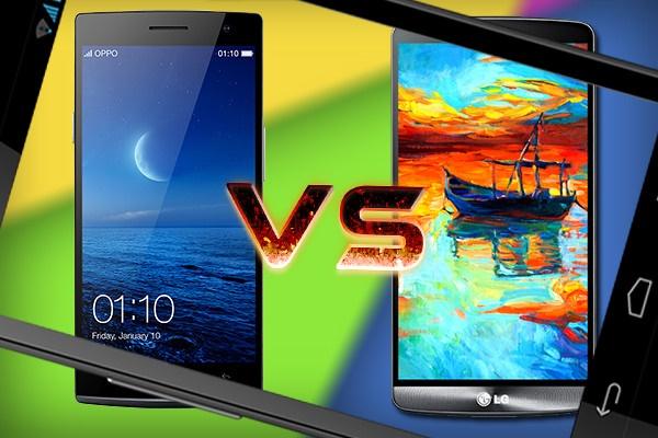 مقایسه دو غول این روزهای بازار گوشیهای هوشمند: جی3 و اوپو فایند7