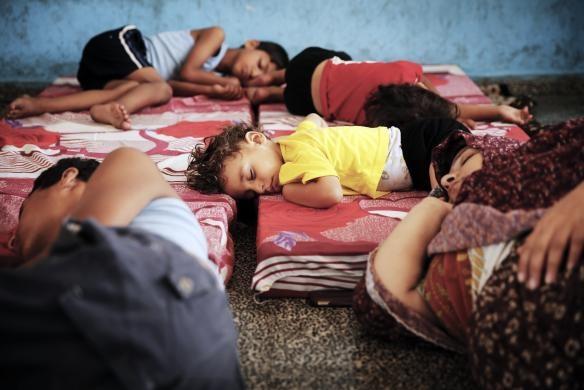 حمله رژیم صهیونیستی به غزه