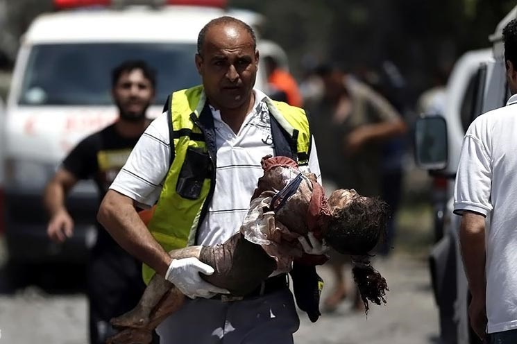 غزه، خون و گله کرکس ها