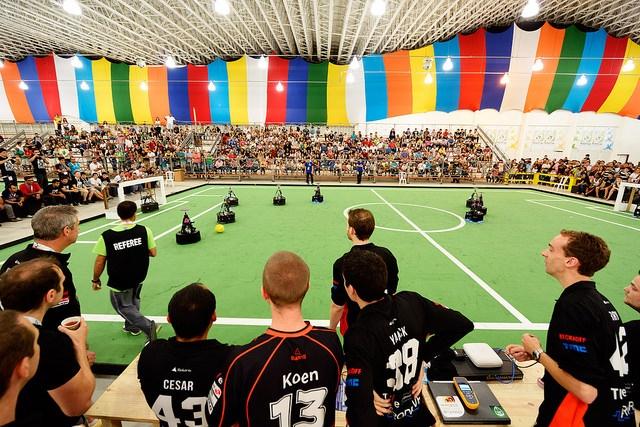 قهرمانی تیم نقش جهان همراه اول در لیگ جهانی روبوکاپ