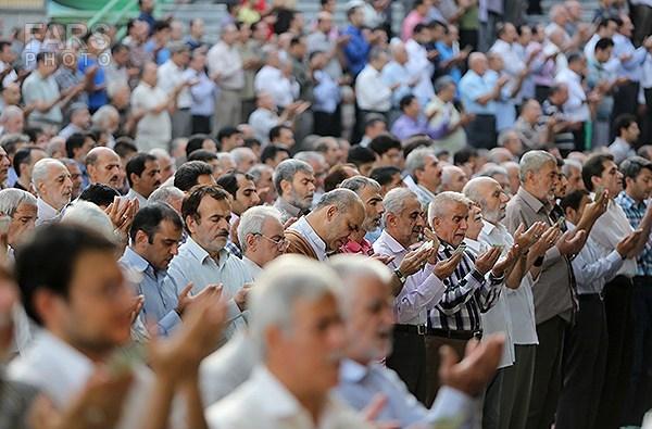 اقامه نماز عید سعید فطر در تهران