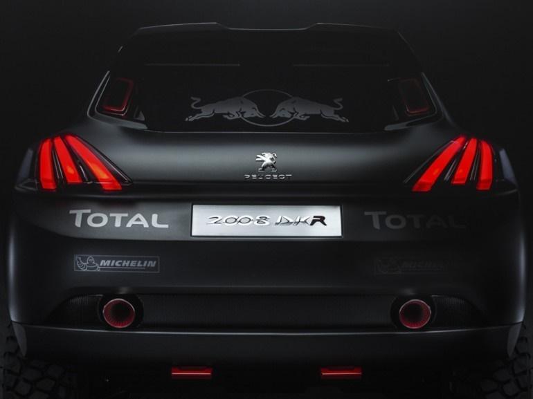 DKR 2008 سرسختترین خودروی ساخت پژو