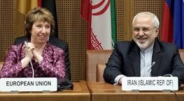 محمدجواد ظریف,سیدعباس عراقچی,کاترین اشتون,مذاکرات هسته ایران با 5 بعلاوه 1