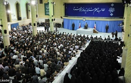 آیتالله خامنهای رهبر معظم انقلاب,دانشجو