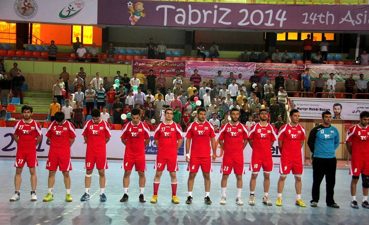 برد تیم ملی هندبال جوانان ایران مقابل بحرین