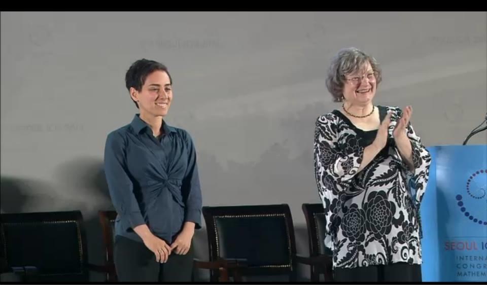 تصاویر اهدای نوبل ریاضیات به بانوی ریاضیدان ایرانی