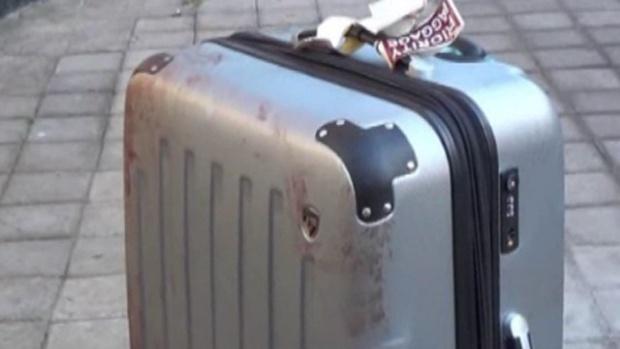 جسد توریست آمریکایی در چمدان
