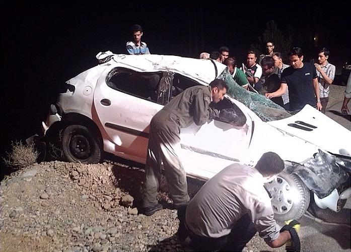 تصاویری از تصادف مرگبار خبرنگار خبرگزاری فارس