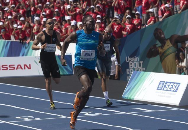 اوسین بولت وعده حضور در المپیک 2016 را به هوادارانش در ریو داد